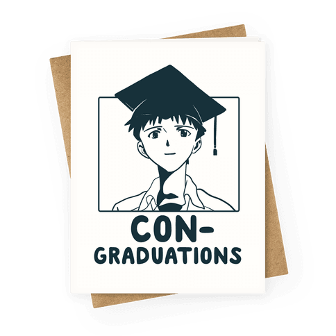 Con-graduations, Shinji-kun Greeting Card