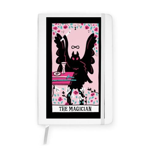The Magician Mothman Tarot Notebook