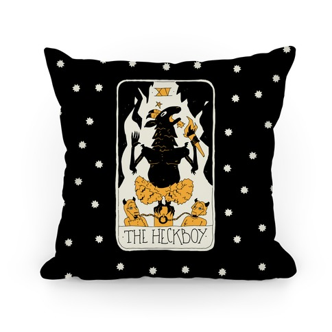 The Heckboy Tarot Card Pillow