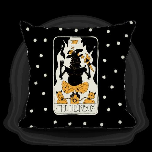 The Heckboy Tarot Card Pillow