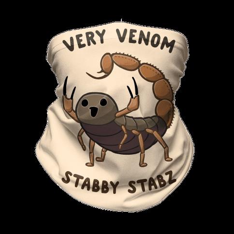 Very Venom Stabby Stabz Neck Gaiter