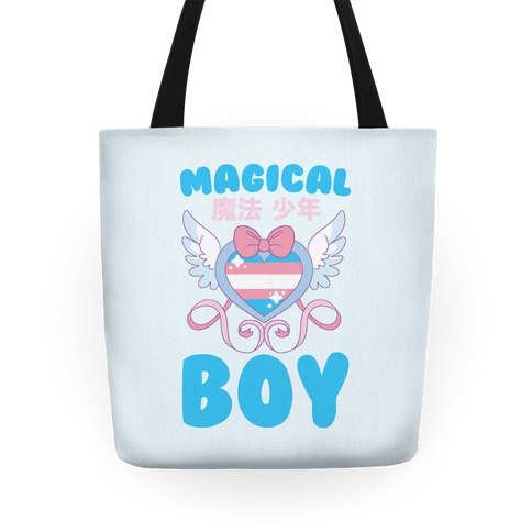 Magical Boy - Trans Pride Tote