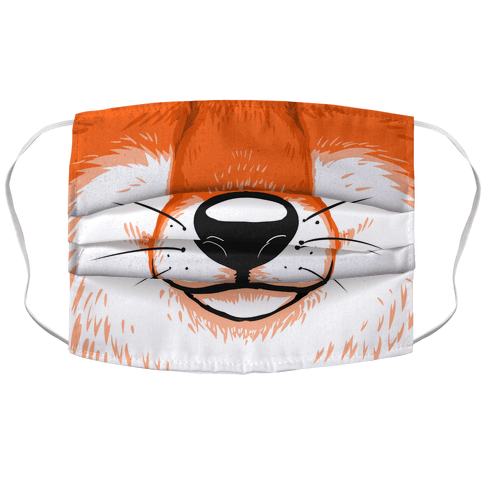 FoxMouth Accordion Face Mask