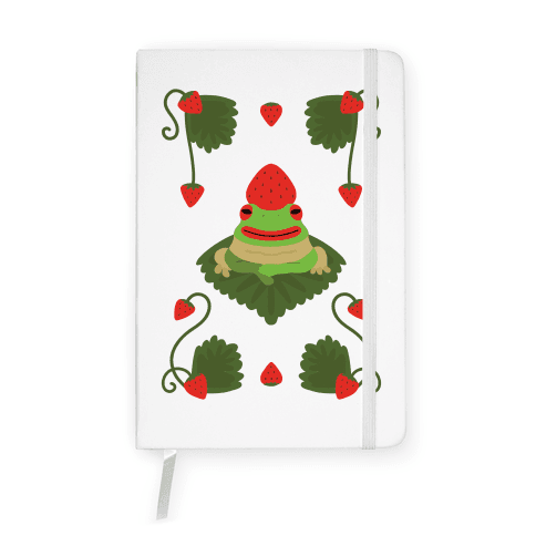 Strawberry Frog Notebook