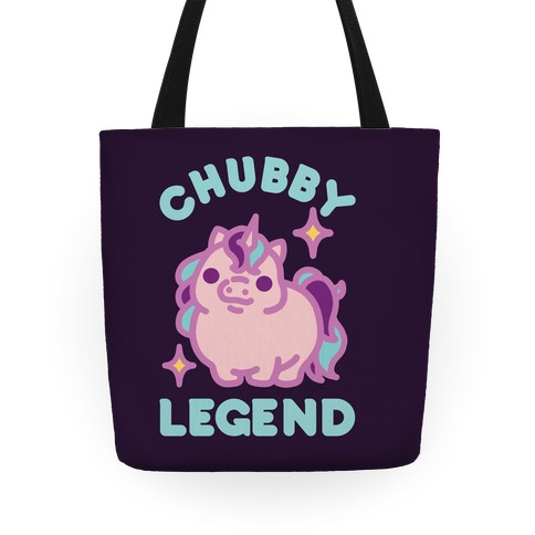 Chubby Legend Unicorn Tote