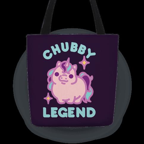 Chubby Legend Unicorn Tote