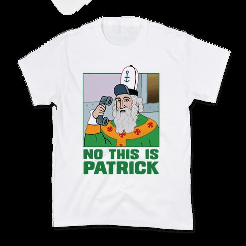 No, This is Patrick Kids T-Shirt