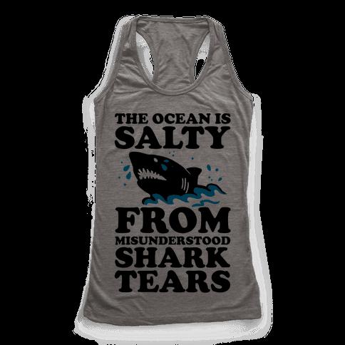 The Ocean Is Salty From Misunderstood Shark Tears