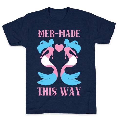 Mer-Made This Way - Trans Mens T-Shirt