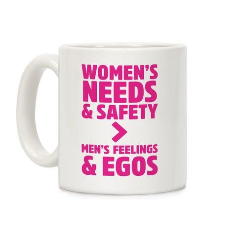 Women's Needs and Safety Coffee Mug
