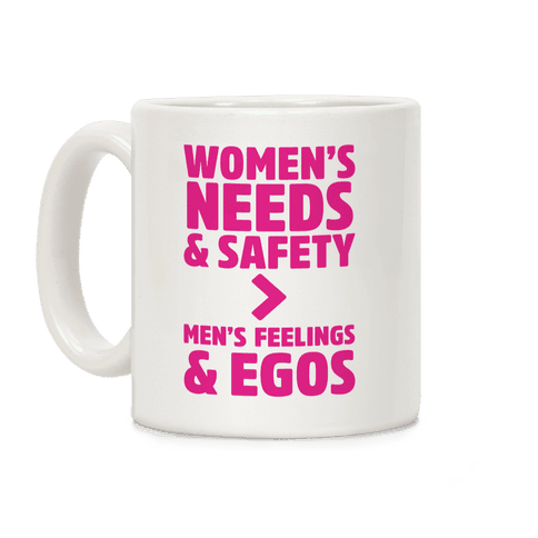 Women's Needs and Safety Coffee Mug