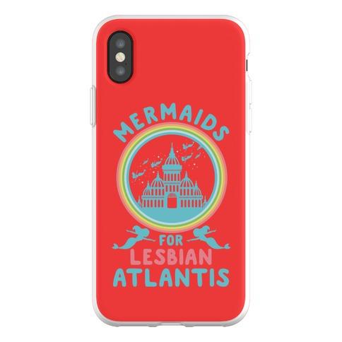 Mermaids For Lesbian Atlantis Phone Flexi-Case