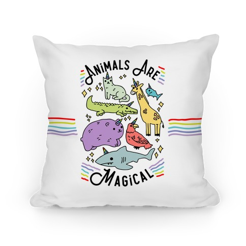 Animals Are Magical Pillow