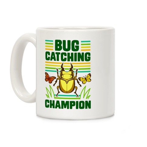 Bug Catching Champion Coffee Mug