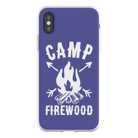 Camp Firewood Phone Flexi-Case
