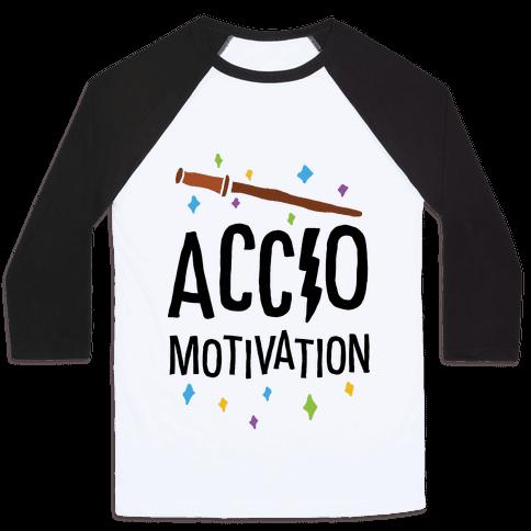 Accio Motivation Baseball Tee