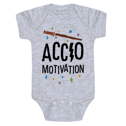 Accio Motivation Baby Onesy