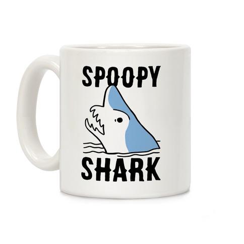 Spoopy Shark - Goblin Shark Coffee Mug