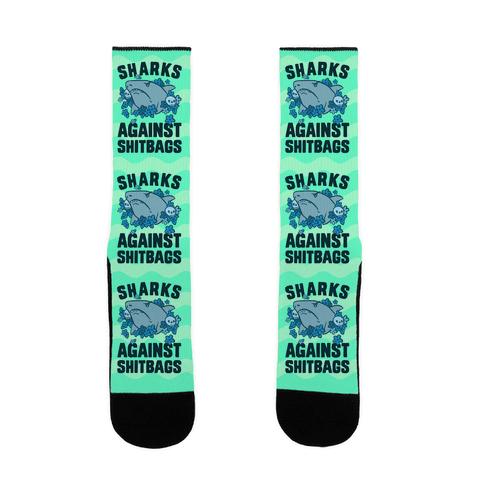 Sharks Against Shitbags Sock