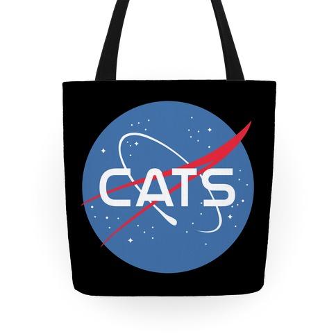 Cats Nasa Parody Tote