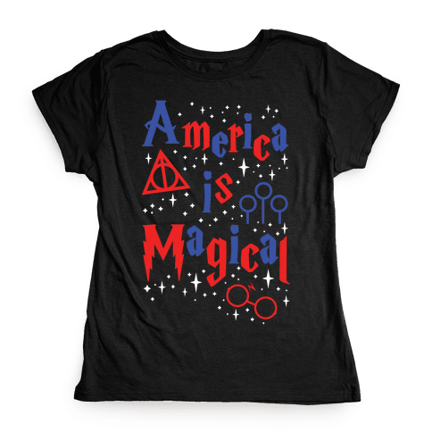 America Is Magical Womens T-Shirt