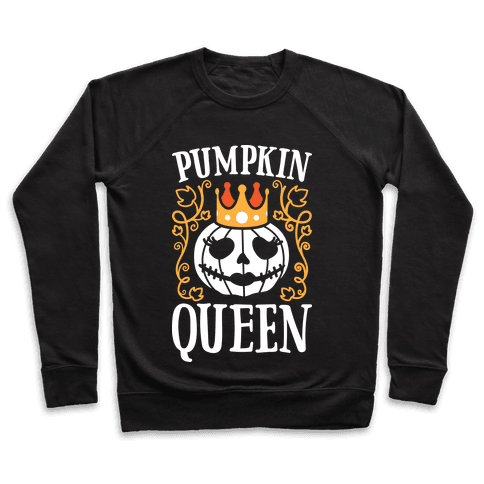 Pumpkin Queen (White) Pullover