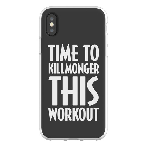 Time To Killmonger This Workout Phone Flexi-Case