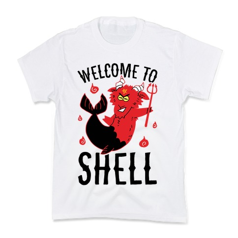 Welcome To Shell Kids T-Shirt