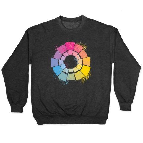 Pan Pride Color Wheel Pullover