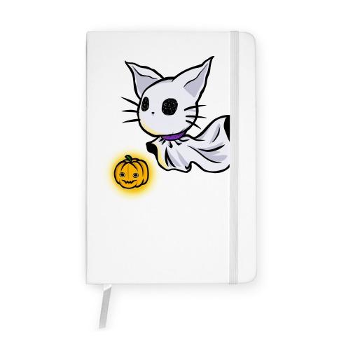 Ghost Cat Notebook