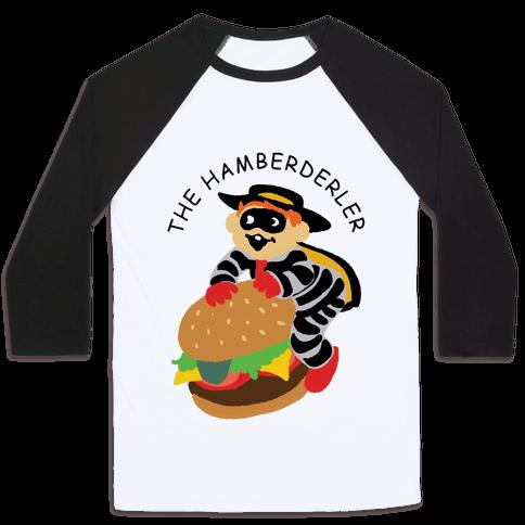 The Hamberderler Baseball Tee