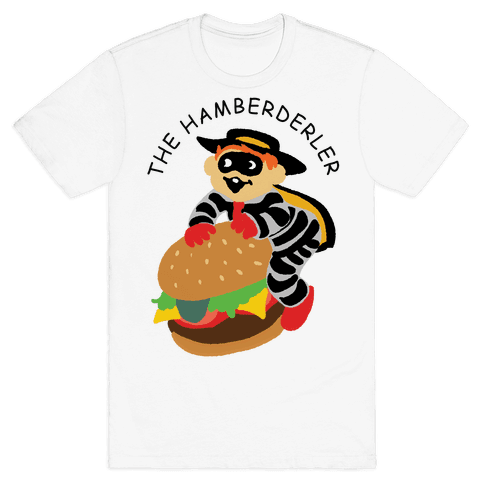 The Hamberderler Mens T-Shirt