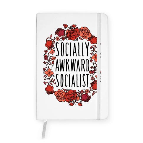 Socially Awkward Socialist Notebook