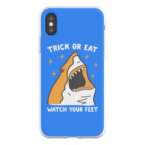 Trick Or Eat Shark Phone Flexi-Case