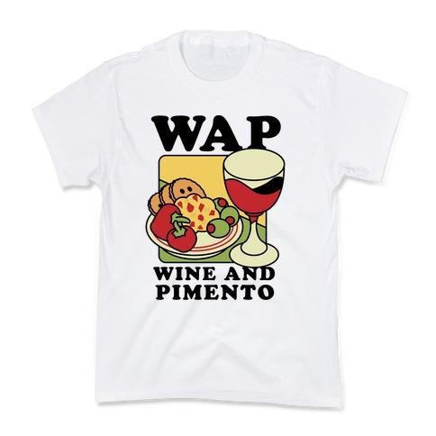 WAP (Wine And Pimento) Kids T-Shirt