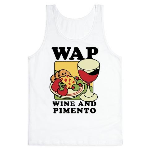 WAP (Wine And Pimento) Tank Top