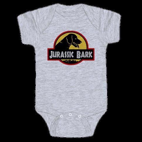 Jurassic Bark Baby Onesy