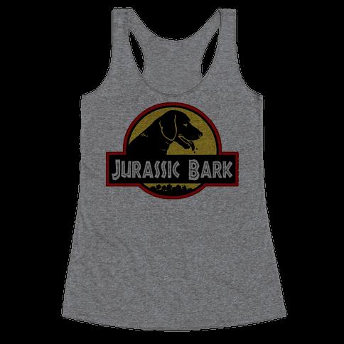 Jurassic Bark Racerback Tank Top