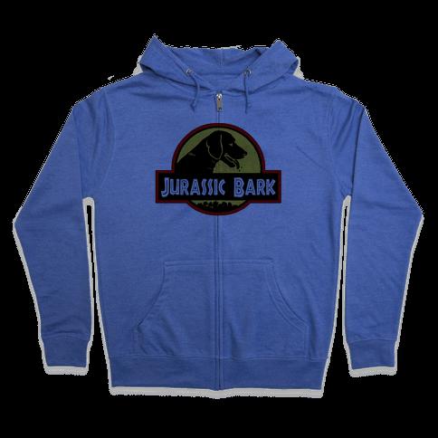 Jurassic Bark Zip Hoodie