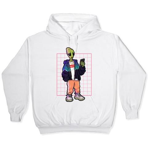 Hypebeast Alien Hooded Sweatshirt