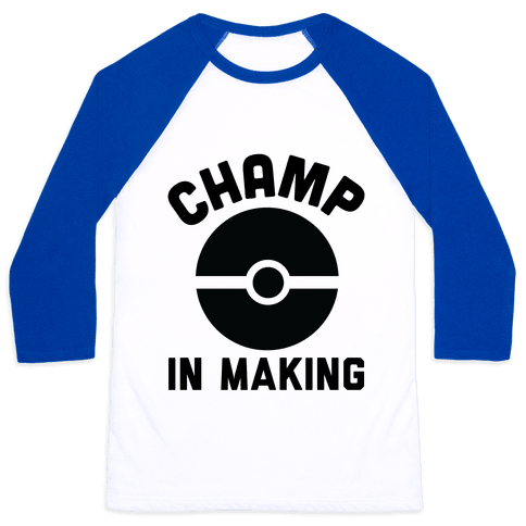 Champ in Making Baseball Tee