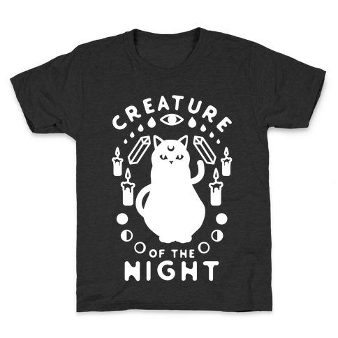 Creature of the Night Kids T-Shirt