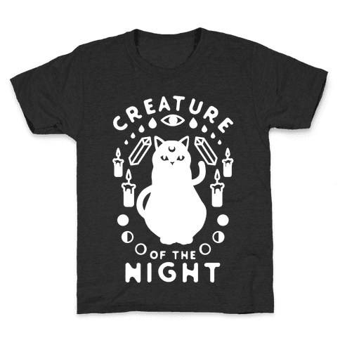 Creature of the Night Kids T-Shirt