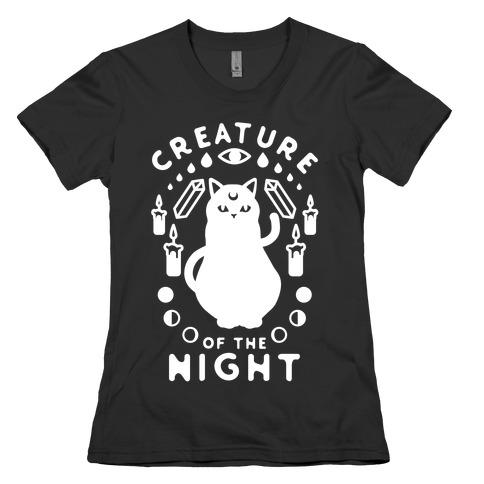 Creature of the Night Womens T-Shirt