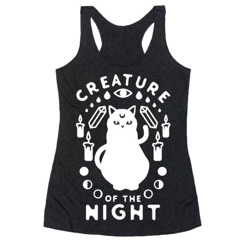 Creature of the Night Racerback Tank Top