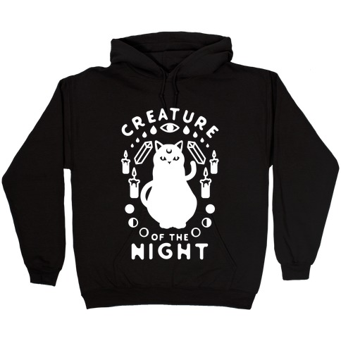 Creature of the Night Hooded Sweatshirt