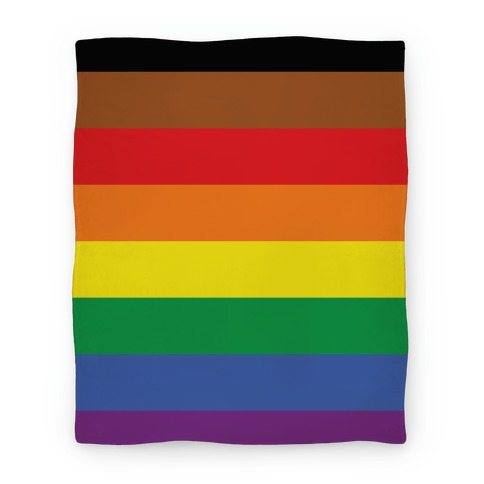 Gay Pride Flag Blanket