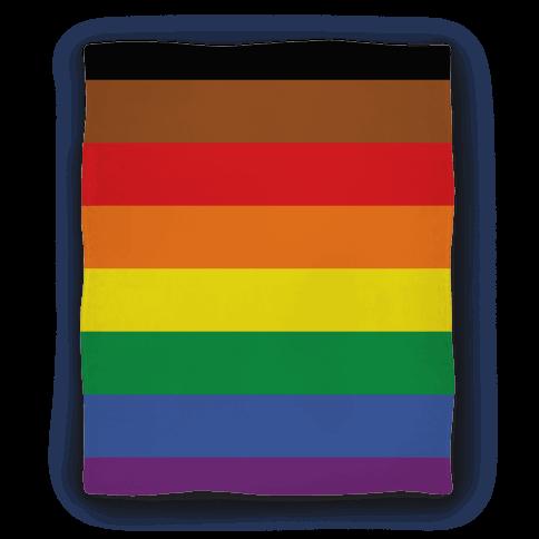 Gay Pride Flag Blanket