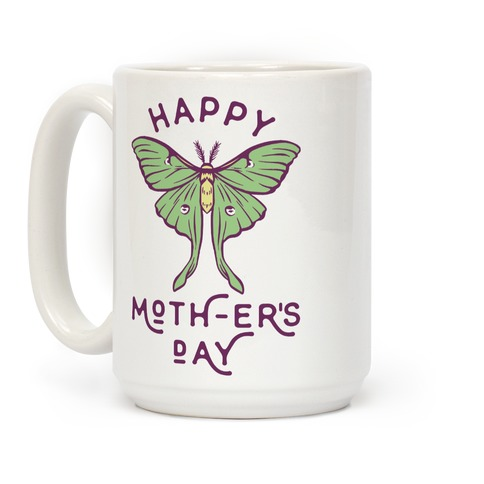 Happy Moth-er's Day Coffee Mug