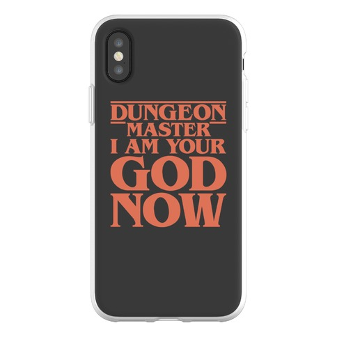 Dungeon Master I Am Your God Now Phone Flexi-Case